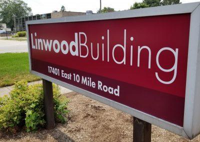 Linwood Building – Sign