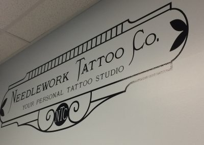 Needlework Tattoo – Wall Graphics